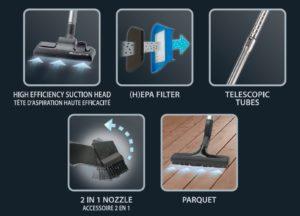 Rowenta RO5349EA : Les accessoires